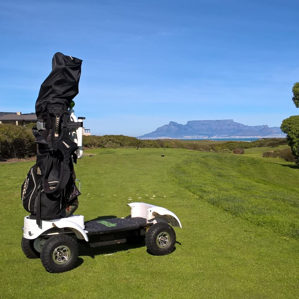 Golf Skate Caddy Table Mountain